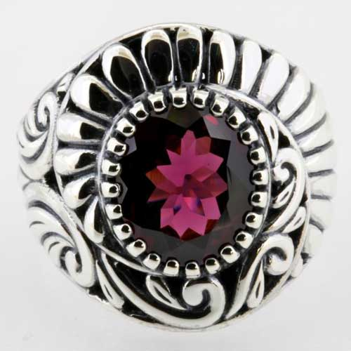 HImalayan Treasures' garnet ring