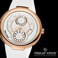 Philip Stein is not just a watch, but an element to a healthy and well-balanced life style. The Philip Stein timepiece reflects the attitude and personal values of the wearer.