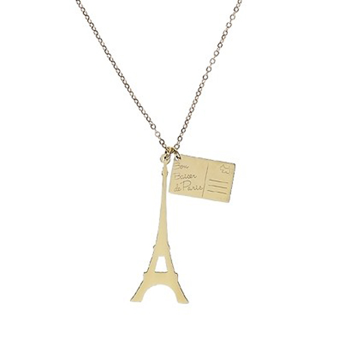 """Lettre De Paris"" pendant by Agatha Paris"
