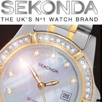 With a wide range of ladies and gents models SEKONDA combines elegance, fashion and style at a competitive price, offering value to the Australian consumer second to none.