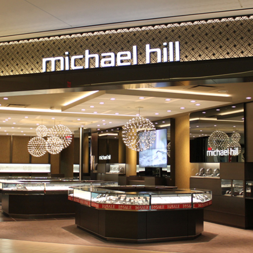 A sales slump in Australia is expected to put pressure on Michael Hill's full year result