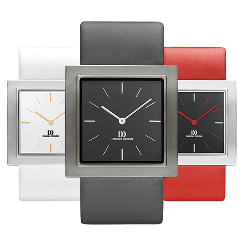 Danish Design's brushed stainless steel watches