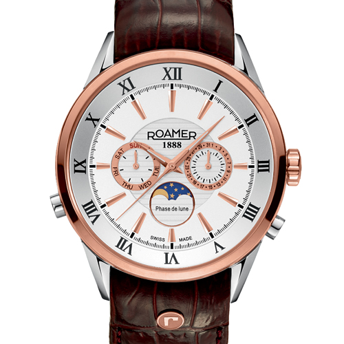 Roamer's Superior Moonphase watch