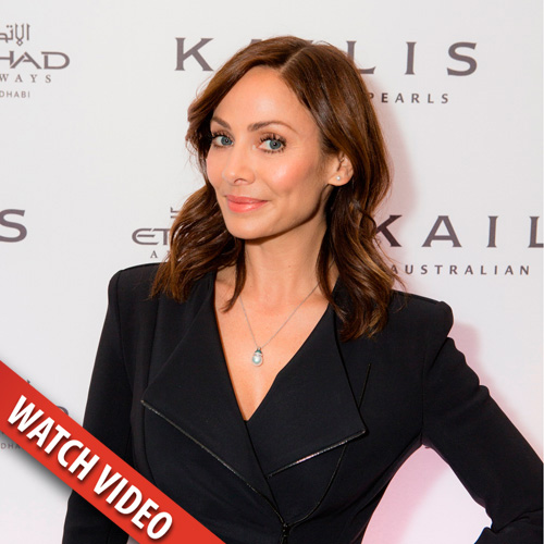 Brand ambassador Natalie Imbruglia showcased the Enlightenment Collection at the launch events