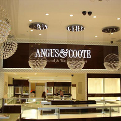 Angus & Coote's Pitt Street store is its first store to be fitted out with the new system
