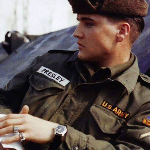"The watch belonged to ""The King"" of rock and roll, Elvis Presley"