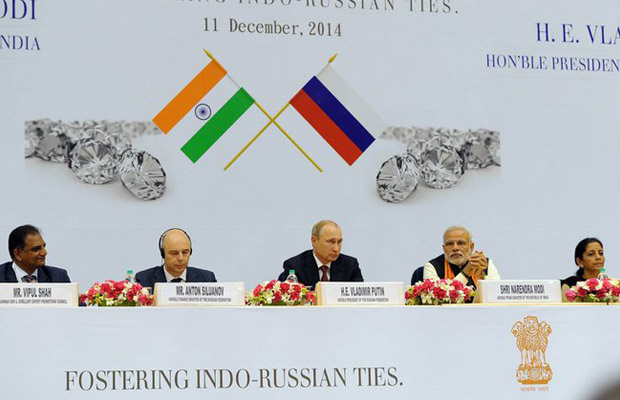 A number of agreements were made at the World Diamond Conference to strengthen the diamond trade between India and Russia