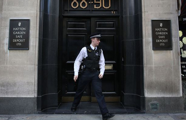 About $384.1 million in jewellery and other items was reportedly stolen in the Hatton Garden heist