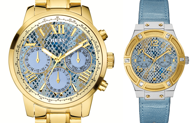 Guess Watches' Ice Blue Haven watch