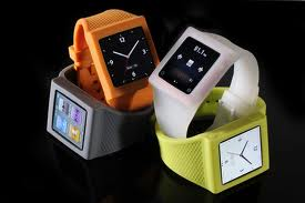 iPod Nano in watchband