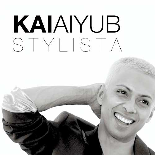 Celebrity stylist Kai Aiyub